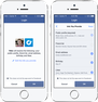 Facebook's new login lets users decide what data they'd like to allow other apps to access.
