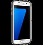 Samsung Galaxy S7 - white, left hand side