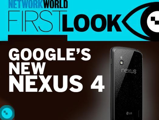 In Pictures: Google's new Nexus 4