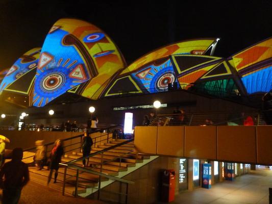 IN PICTURES: Vivid 2013 (1) - Sydney lights up
