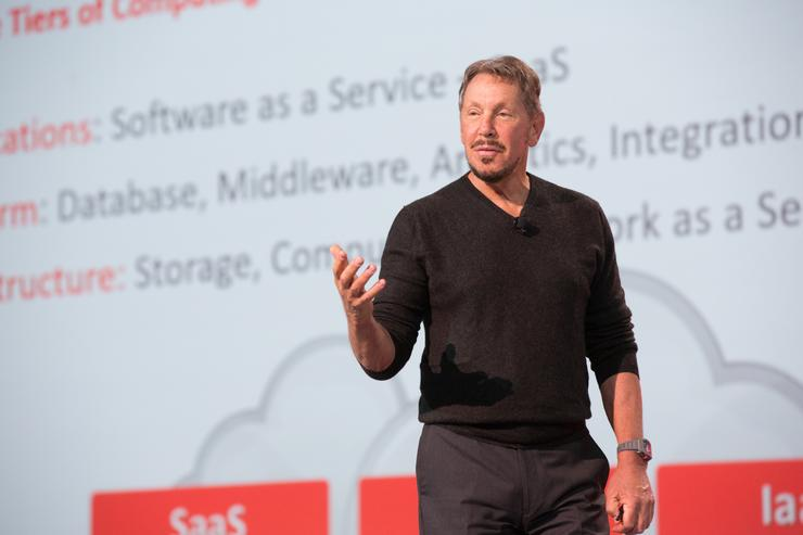 Larry Ellison - Chairman and CEO, Oracle