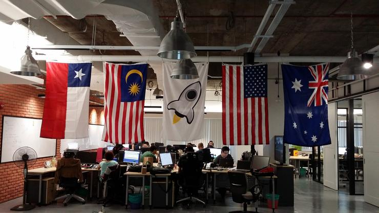ServiceRocket's offices in Sydney, photo courtesy of Flickr