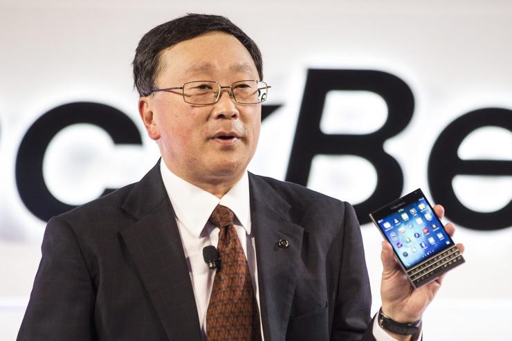 John Chen, CEO, BlackBerry