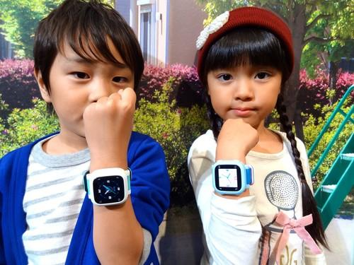 NTT DoCoMo's Docotch 01 child-tracking watch has GPS, 3G and sensors for temperature and humidity as well as an accelerometer.