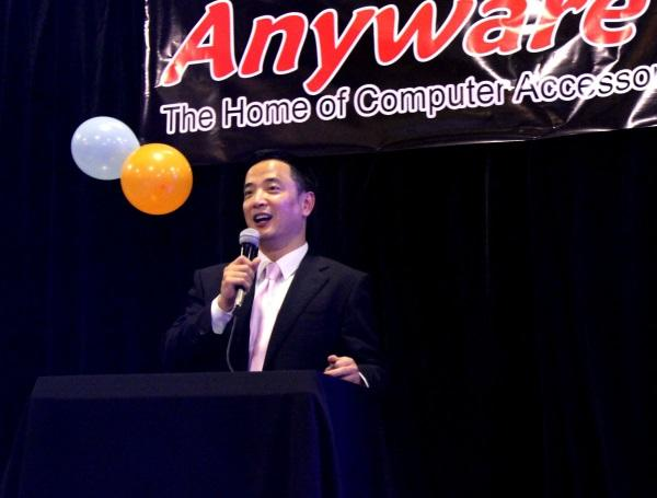 Anyware manager director, Garrison Huang