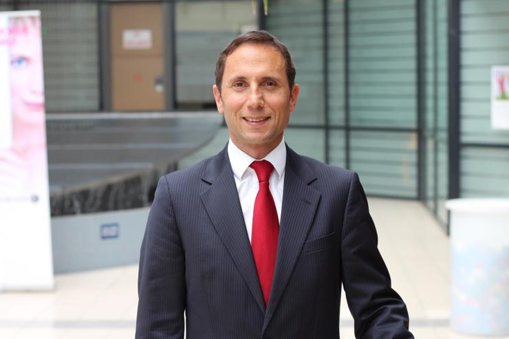 ALE global sales and marketing executive vice-president, Matthieu Destot.