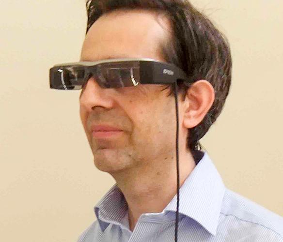 Epson's smart glasses