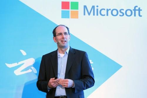 Microsoft's Scott Guthrie on opening the company's new subsidiary in China.