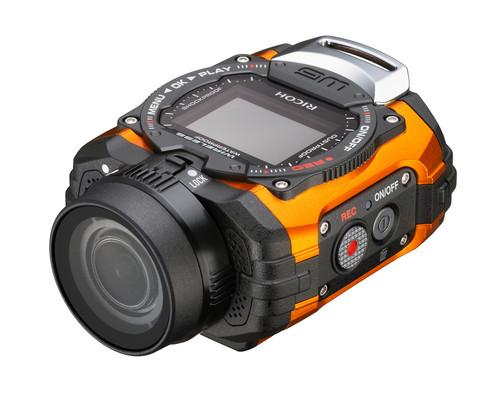 Ricoh Imaging's WG-M1 action cam works underwater, in cold conditions and with smartphones and tablets.