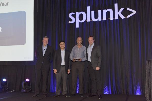 DNA Connect wins Splunk Asia-Pacific distie of the year award