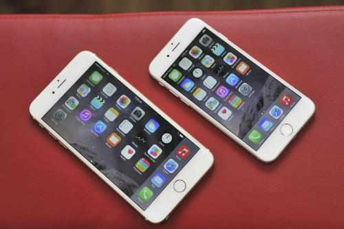The Apple iPhone 6 Plus and iPhone 6