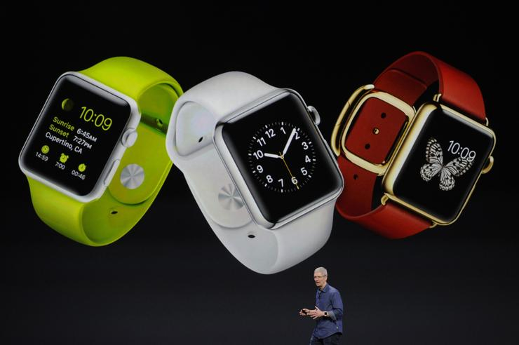 Tim Cook unveils the new Apple Watch