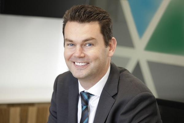 Nimble Storage A/NZ managing director Bede Hackney.
