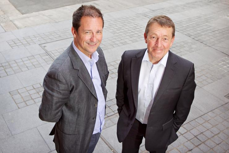 Kenny Soutar, A/NZ country manager and Ken Cartwright, senior channel account manager