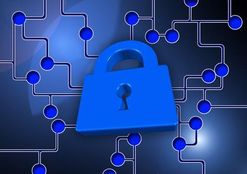 Illustration of security online
