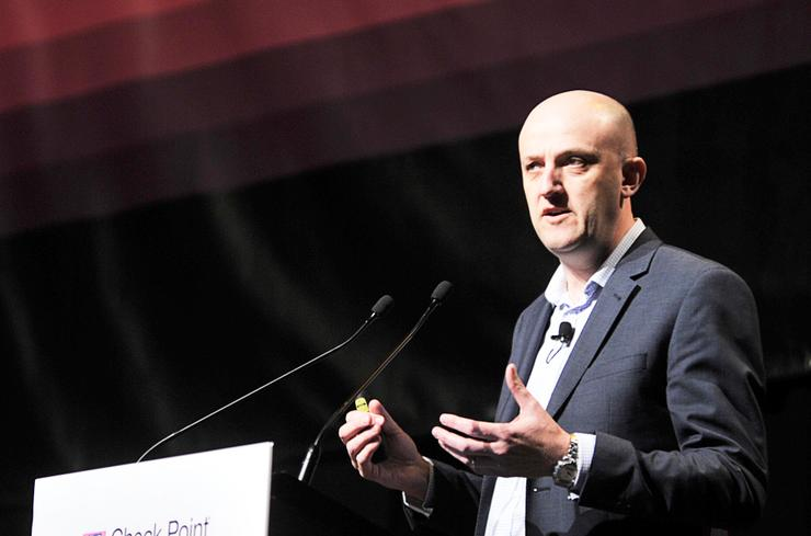 Telstra chief information security officer, Mike Burgess