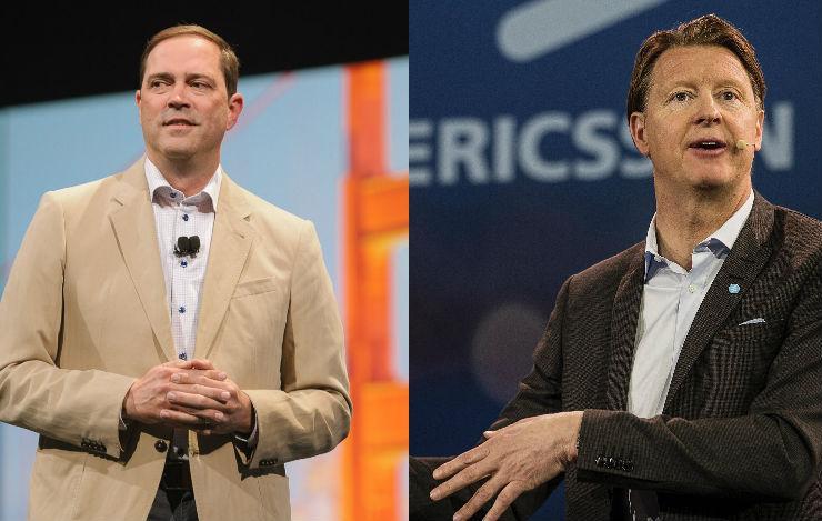 Chuck Robbins - CEO, Cisco and Hans Vestberg, CEO, Ericsson