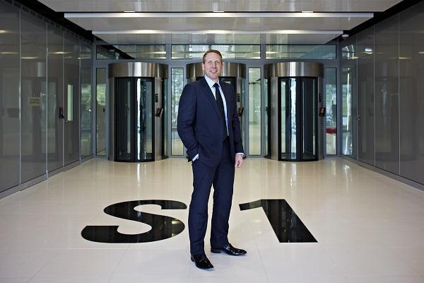NEXTDC chief executive Craig Scroggie at the Sydney S1 datacentre.