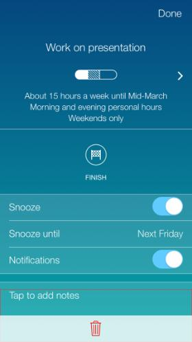 Timeful uses machine learning to create an optimal schedule for a person.
