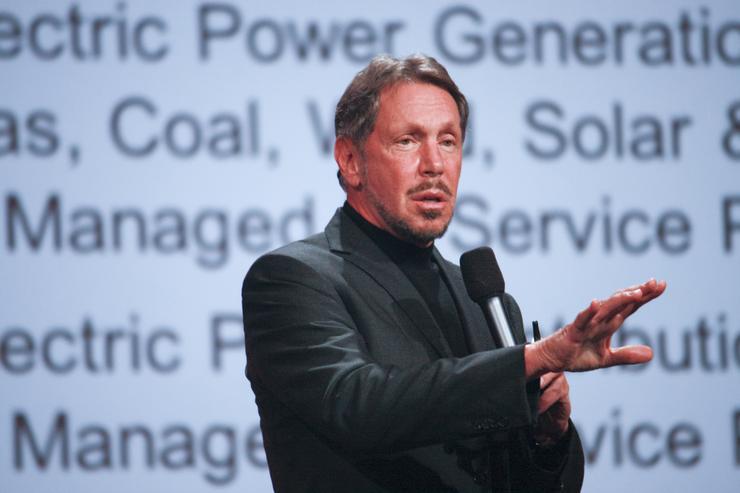 Larry Ellison - Chairman, Oracle