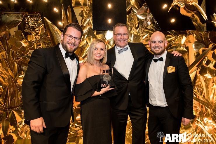 Data#3 wins Enterprise Partner of the Year Award at ARN ICT Industry Awards 2016