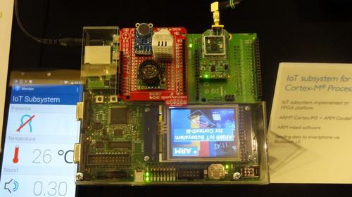 IOT chip based on ARM's new design