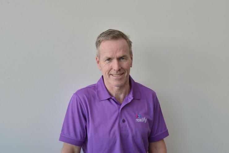 Readify managing director, Graeme Strange