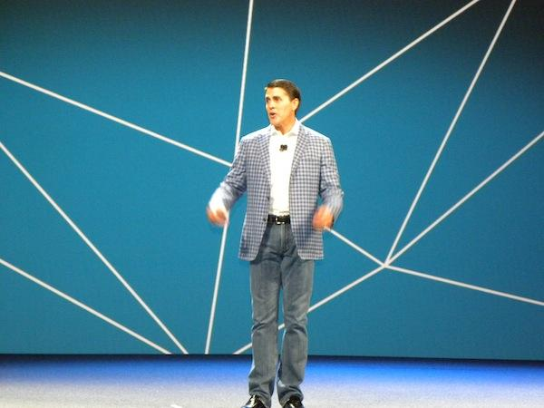VMware president and CEO, Carl Eschenbach.