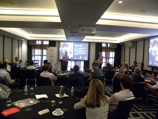 Rhipe Cloud Channel Summit 2016 Breakout Session at the Primus Hotel, Sydney