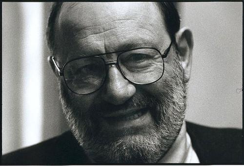 Umberto Eco, a leading Italian author, set off controversy on Twitter.