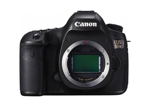 Canon's new 5DS digital SLR camera boasts a 50.6-megapixel CMOS sensor.