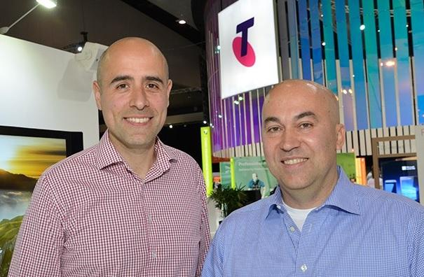 Gianpaolo Carraro (Telstra) and Giovanni Mezgec (Microsoft)