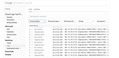 Using Google's new service, administrators can aggregate or filter logs of cloud services