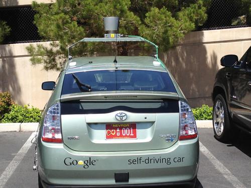 Google car in Las vegas