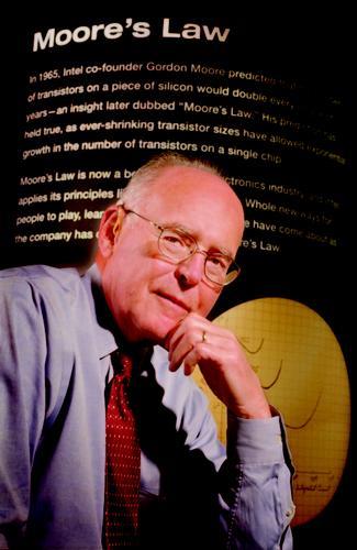 Intel co-founder Gordon Moore (1)