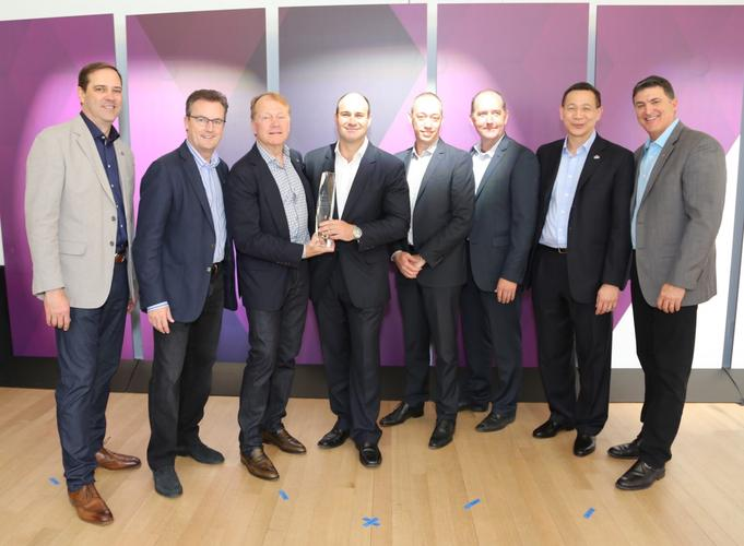 The Optus Business team, which took out the Architectural Excellence Partner of the Year Award: Enterprise Networks