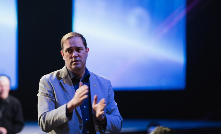 Cisco senior vice president, worldwide field operations, Chuck Robbins