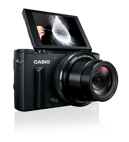 Casio's Exilim EX-100PRO can synchronize up to seven high-speed cameras.