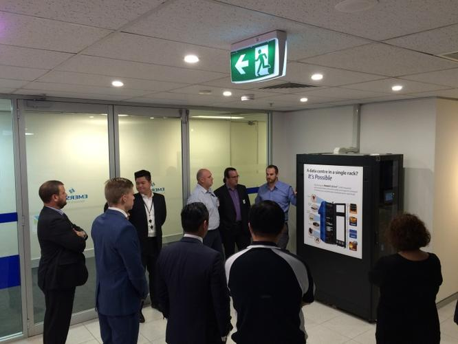 Partners checking out the SmartCabinet