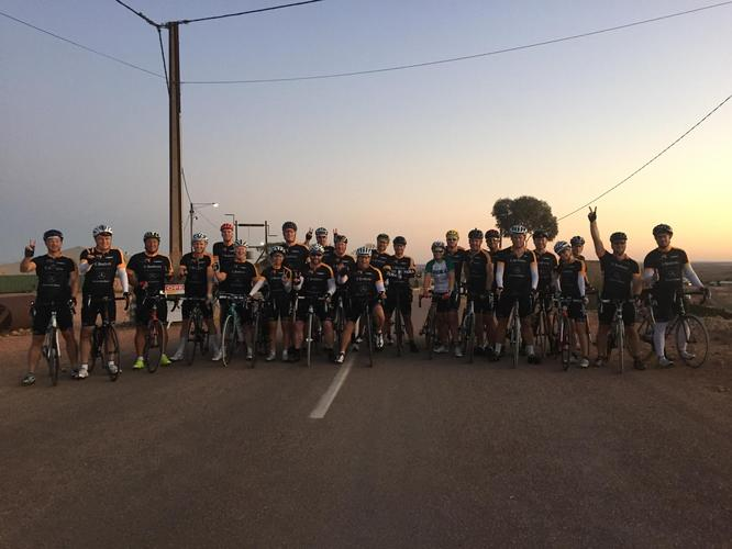 Jabra's David Piggott cycles from Adelaide to Darwin for charity