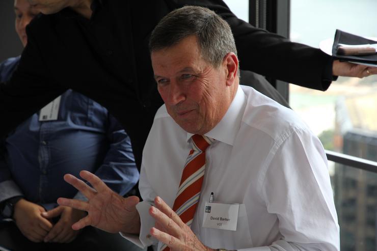 VCE managing director A/NZ, David Barker.