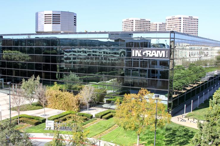 Ingram MIcro's headquarters in Irvine, California