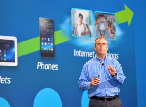 Intel CEO Brian Krzanich opens IDF 2013