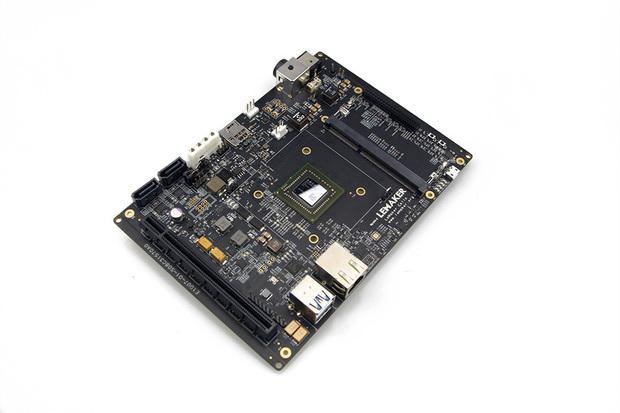 LeMaker's Cello developer board has server chips from AMD. Credit: LeMaker