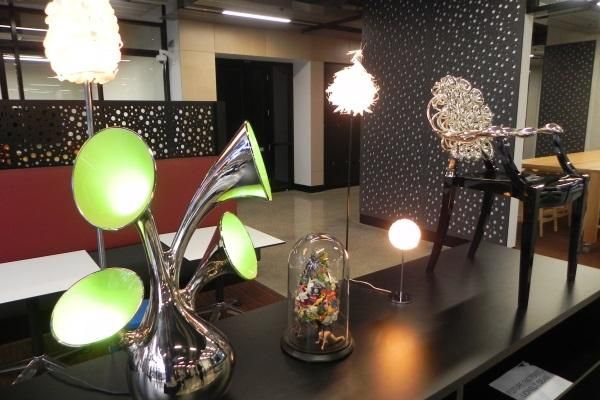 Lionel Dean's (School of Design at De Montfort University in Leicester, UK) 3D printed art exhibition.