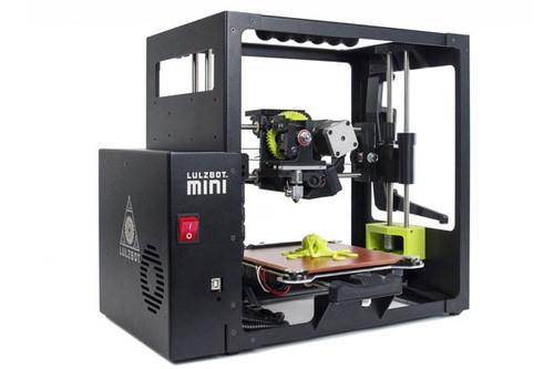 The Lulzbot Mini 3D printer