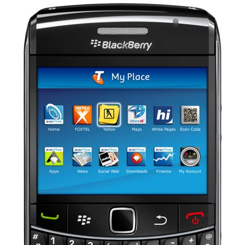 BlackBerry Bold 9700 under Telstra