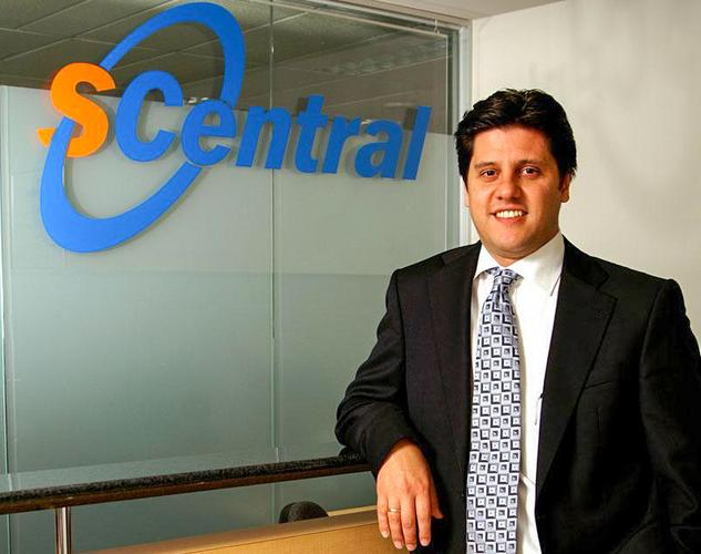 Peter Mavridis when he was managing director of S Central