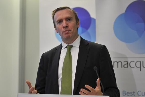 Macquarie Telecom chief executive, David Tudehope
