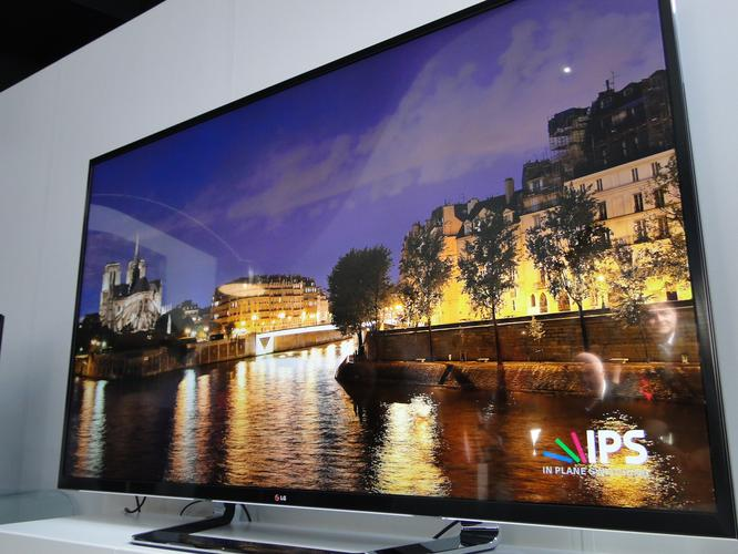 "LG's UD 3D TV comes with an 84"" screen and 2.2 speaker system"